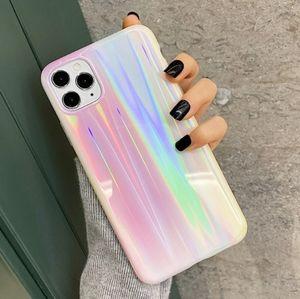 iPhone Case Aurora pattern Holographic Laser Case